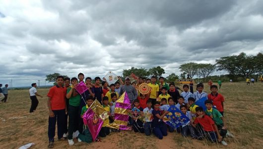 Colourful Kites Display – 2019