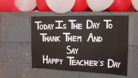 Teacher's Day – 2019